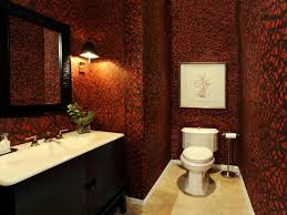 Wallpaper Ideas For Small Bathroom Ideas For Decorating With Burgundy And White Tiles Small Bathroom