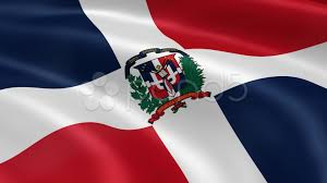 Flag Of The Dominican Republic Dominican Republic Flag In The Wind Stock Video 10561525