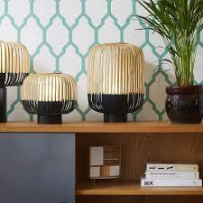 Grandes Lampes De Salon by Lampe à Poser Bamboo Light Xs Bambou Noir ø27cm H24cm