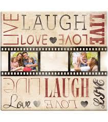 Scrapbook Page Protectors Mbi Live Laugh Love Film Strip Post Bound Scrapbook The Perfect