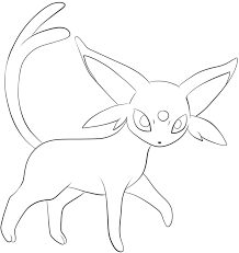 196 espeon lineart by lilly gerbil on deviantart