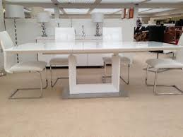 Black Gloss Dining Table And 6 Chairs Cream Gloss Dining Table And Chairs All The Best Cream In 2017