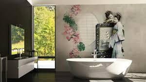 badezimmer tapete badezimmer tapete waschbares vinyl als schmuckstück für die wände