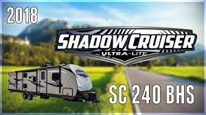2018 cruiser shadow cruiser sc 240 bhs travel trailer rv for sale