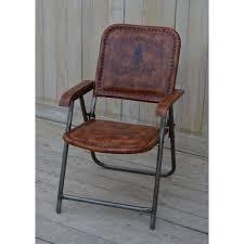 poltrona in pelle vintage sedia pieghevole in pelle stile vintage collyshop