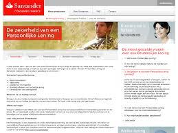 Bijkomende Kosten Persoonlijke Lening Nieuwe Portal Voor Santander Nederland U2013 Unitid