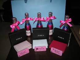 bridesmaids gift bags bridesmaids gift bag the tiny chagne idea and