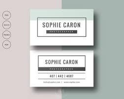 2 premade business card templates set of 2 printable