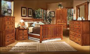 Red Oak Bedroom Furniture by Mission Creek Collection Bedroom Furniture