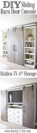 Ana White Barn Door by Ana White Sliding Door Cabinet For Tv Diy Projects Best Made