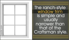 Trim Styles Interior Window Trim Styles