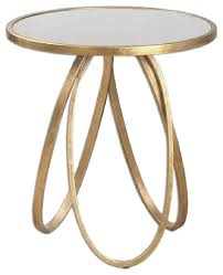 Gold Side Table Inspiring Gold Side Table With Uttermost Montrez Gold Accent Table