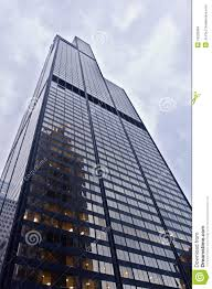 willis tower sears tower in chicago illinois stock images