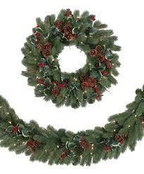 noble fir christmas tree woodbury classic noble fir wreath garland tree classics