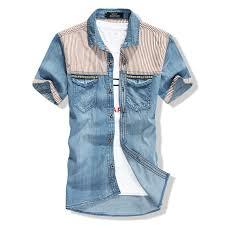 buy 2015 men casual shirts long sleeve patchwork dress shirt