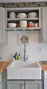 shaker cabinets white kitchen traditional with apron sink