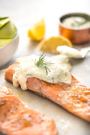 8 Classic Fish And Seafood Sauce Recipes Creamy Dill Sauce For Salmon Or Trout Recipetin Eats