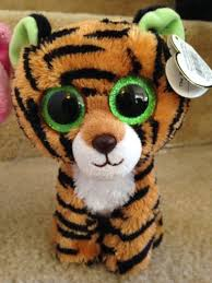 ty beanie boo valentine love cats stripes tiger anabelle