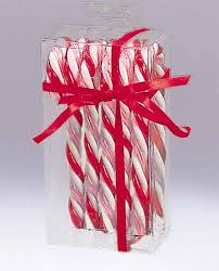 pack of 6 peppermint twist red white and pink candy cane