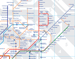 underground map zones s got a new map brilliant maps