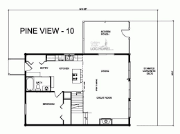 pv plan golden eagle log and timber homes floor plan details pv 10