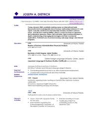 French Resume Examples by Example Of A Good Resume Examples Of A Good Resume Template