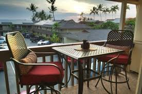 table and chair rentals big island pacific breeze vacation rentals kona shores condo