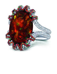 red emerald rings images Diamond rings vintage modern martin katz jpg