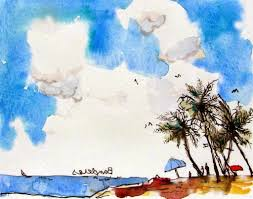 famous watercolor painting ideas etsy water color prints of cute