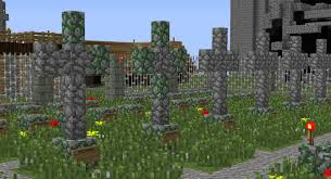 halloween cemetery fence ideas spooky build idea guide brawl games minecraft server network