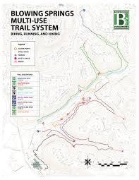 Ar Map Blowing Springs Nwa Trails