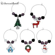 thanksgiving wine glass charms promotion shop for promotional