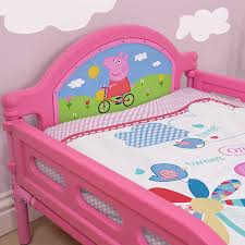 Peppa Pig Toddler Bed Set Peppa Pig Tulip Childrens Toddler Junior Cot Bed Pink