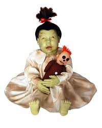 Spirit Halloween Infant Costumes Electronic Software Molly Dolly Zombie Baby Spirit Halloween