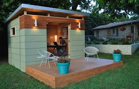 chalet bureau ext駻ieur livable sheds guide and ideas abris de jardin refuges et bureau