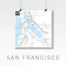 San Francisco Subway Map by San Francisco Bay Area Public Transport Page 60 Skyscrapercity