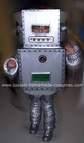 Kids Robot Halloween Costume Cool Homemade Robot Boy Costume Homemade Costumes Robot