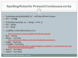 how do you spell travelling images English site antonio mars present continuous spelling rules jpg