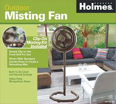 amazon com holmes hpf1010a nm outdoor misting fan home u0026 kitchen