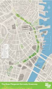 Green Line Boston Map by Visiting The Greenway Rose Kennedy Greenway Conservancy