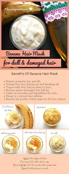 banana for hair diy effective banana hair mask for damaged hair alluring soul