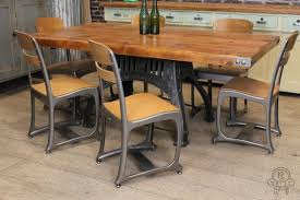industrial glass dining table dining table vintage style dining table and chairs table ideas uk