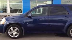 chevrolet equinox blue blue 2008 chevrolet equinox sport awd at scougall motors in fort
