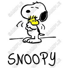 peanuts snoopy charlie brown shirt iron transfer decal 10