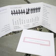 modern wedding programs wedding program inclusions modern wedding program all about