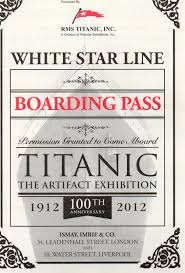 Titanic Second Class Menu by Rms Titanic Playbuzz