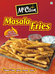 mccain foods india introduces masala french fries food and
