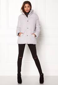 rut circle rut circle hilma padded jacket filler grey bubbleroom