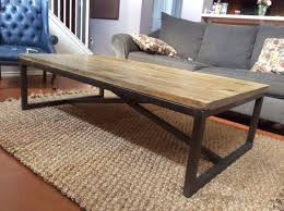 metal frame for table top 10 the best rustic industrial coffee table inside rustic wood and