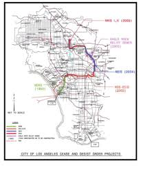 Los Angeles Street Cleaning Map by City Of Los Angeles Bureau Of Engineering Strategies For